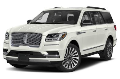 3/4 Front Glamour 2019 Lincoln Navigator