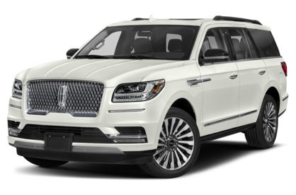 3/4 Front Glamour 2020 Lincoln Navigator