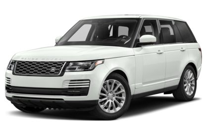 3/4 Front Glamour 2020 Land Rover Range Rover