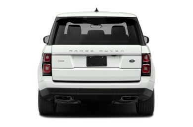 Rear Profile  2019 Land Rover Range Rover