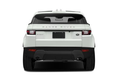 Rear Profile  2018 Land Rover Range Rover Evoque