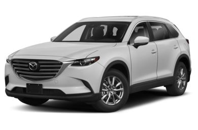 3/4 Front Glamour 2018 Mazda CX-9
