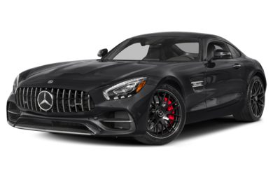 3/4 Front Glamour 2019 Mercedes-Benz AMG GT