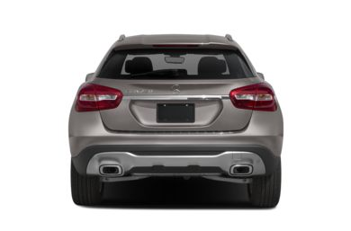 Rear Profile  2019 Mercedes-Benz GLA-Class