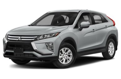 3/4 Front Glamour 2019 Mitsubishi Eclipse Cross