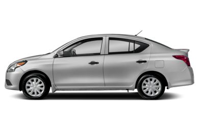 90 Degree Profile 2018 Nissan Versa