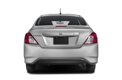 Rear Profile  2018 Nissan Versa