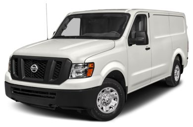 3/4 Front Glamour 2018 Nissan NV Cargo NV1500