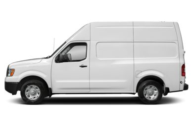 90 Degree Profile 2018 Nissan NV Cargo NV2500 HD