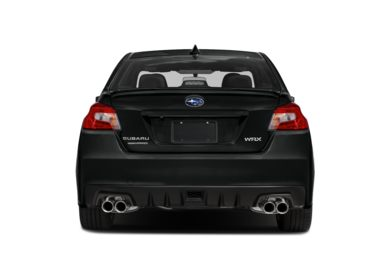 Rear Profile  2019 Subaru WRX