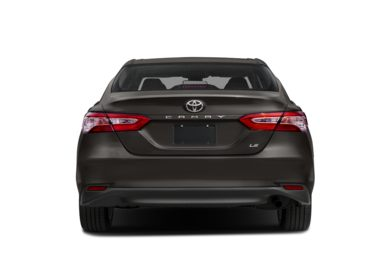 Rear Profile  2018 Toyota Camry