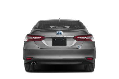 Rear Profile 2019 Toyota Camry Hybrid