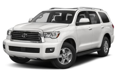 3 4 Front Glamour 2019 Toyota Sequoia