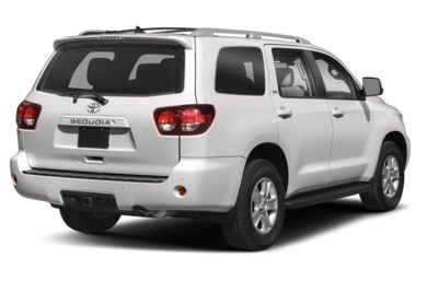3/4 Rear Glamour  2018 Toyota Sequoia