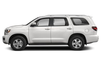 90 Degree Profile 2018 Toyota Sequoia