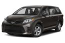 3/4 Front Glamour 2019 Toyota Sienna