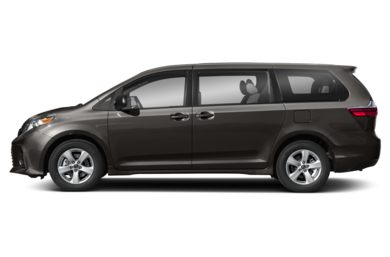 90 Degree Profile 2019 Toyota Sienna