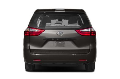 Rear Profile 2018 Toyota Sienna