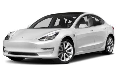 3 4 Front Glamour 2018 Tesla Model
