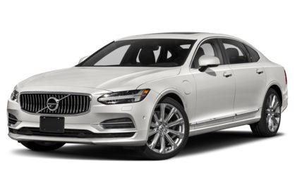 3/4 Front Glamour 2020 Volvo S90