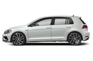 90 Degree Profile 2019 Volkswagen Golf R