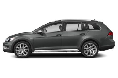 90 Degree Profile 2019 Volkswagen Golf Alltrack