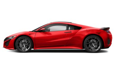 90 Degree Profile 2019 Acura NSX