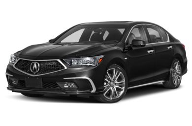 3/4 Front Glamour 2019 Acura RLX