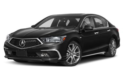 3/4 Front Glamour 2020 Acura RLX