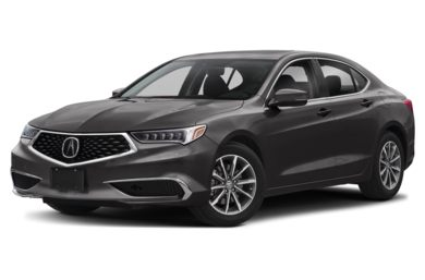 3/4 Front Glamour 2019 Acura TLX