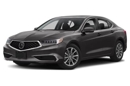 3/4 Front Glamour 2020 Acura TLX