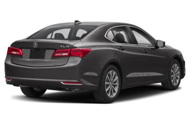 3/4 Rear Glamour  2019 Acura TLX