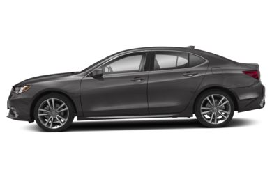 90 Degree Profile 2019 Acura TLX
