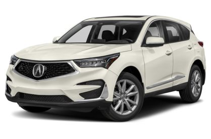 3/4 Front Glamour 2021 Acura RDX