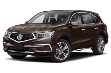 3 4 Front Glamour 2019 Acura Mdx