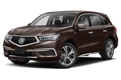 3/4 Front Glamour 2020 Acura MDX