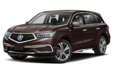 3/4 Front Glamour 2019 Acura MDX