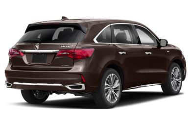 3/4 Rear Glamour  2019 Acura MDX