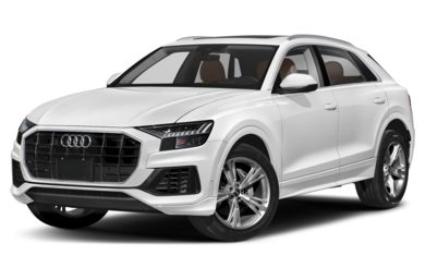 3/4 Front Glamour 2019 Audi Q8