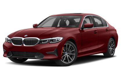 3/4 Front Glamour 2021 BMW 3-Series