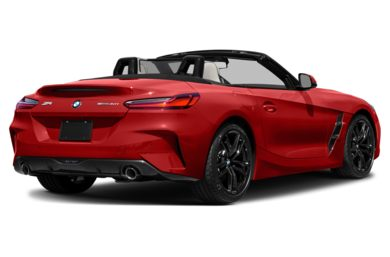 3/4 Rear Glamour  2020 BMW Z4