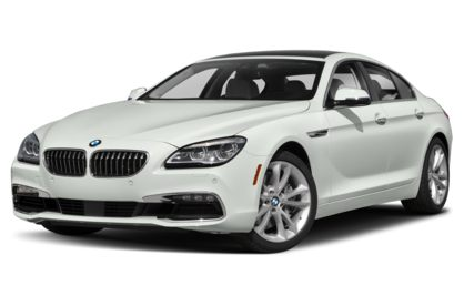 3/4 Front Glamour 2019 BMW 6-Series