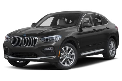 3/4 Front Glamour 2021 BMW X4