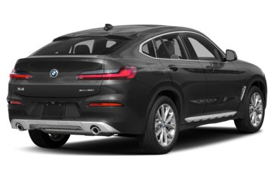 3/4 Rear Glamour  2019 BMW X4