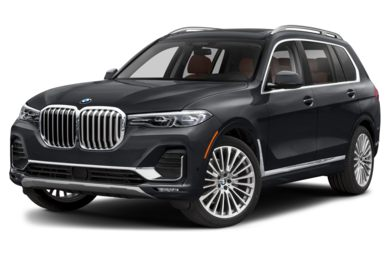 3/4 Front Glamour 2019 BMW X7
