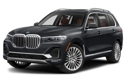3/4 Front Glamour 2020 BMW X7