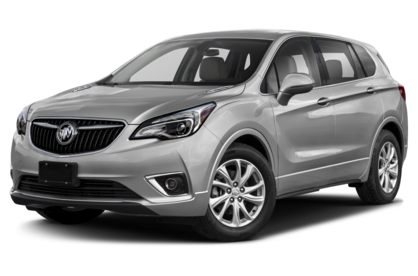 3/4 Front Glamour 2020 Buick Envision