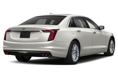 3/4 Rear Glamour  2019 Cadillac CT6