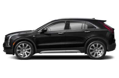 90 Degree Profile 2019 Cadillac XT4