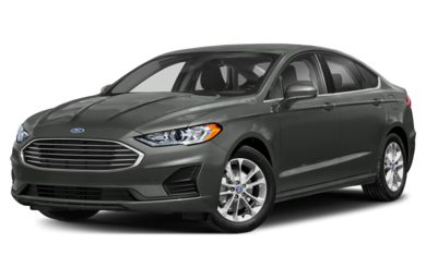 3 4 Front Glamour 2019 Ford Fusion